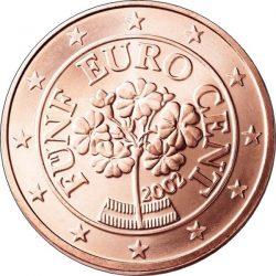 5 евроцентов, Австрия, аверс