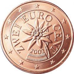 2 евроцента, Австрия, аверс