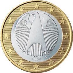 1 евро, Германия