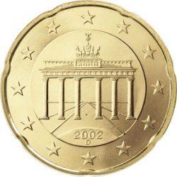 20 евроцентов, Германия