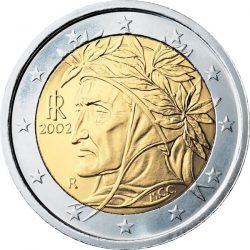 2 евро, Италия