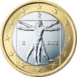 1 евро, Италия
