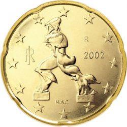 20 евроцентов, Италия