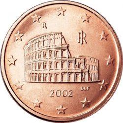 5 евроцентов, Италия