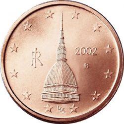 2 евроцента, Италия