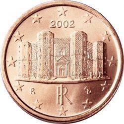 1 евроцент, Италия
