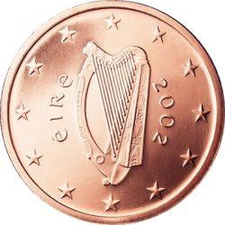 1 евроцент, Ирландия