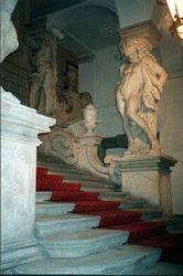 Парадная лестница дворца Евгения Савойского