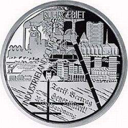 10 евро, Германия (Промышленный пейзаж Рура)