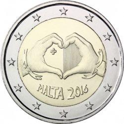 2 евро, Мальта (Солидарность через любовь)
