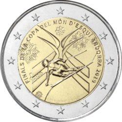2 евро, Андорра (Финал Кубка мира по горнолыжному спорту 2018/2019)
