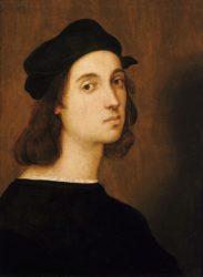 Рафаэль Санти, «Автопортрет» (1506, Галерея Уффици, Флоренция)