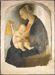 «Мадонна с младенцем» (1498, дом-музей Рафаэля в Урбино)