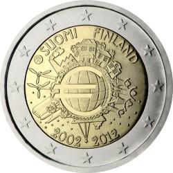 2 евро, Финляндия (10 лет наличному обращению евро)