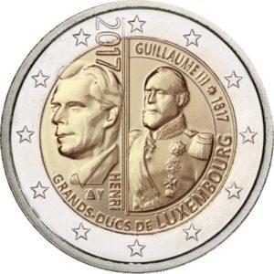 2 евро, Люксембург (200 лет со дня рождения Великого герцога Виллема III)