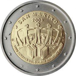 2 евро, Сан-Марино (Европейский год межкультурного диалога)