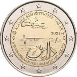 2 евро, Финляндия (100-летие самоуправления Аландских островов)