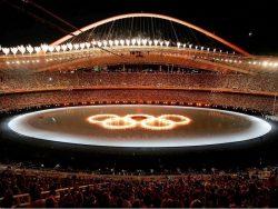 Торжественное открытие Олимпиады-2004 в Афинах