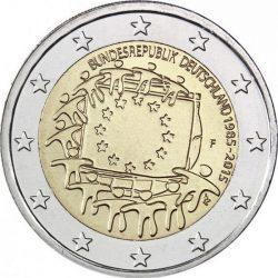2 евро, Германия (30 лет флагу Европейского союза)