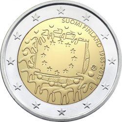 2 евро, Финляндия (30 лет флагу Европейского союза)