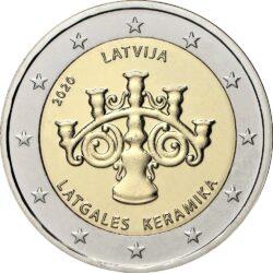 2 евро, Латвия (Латгальская керамика)