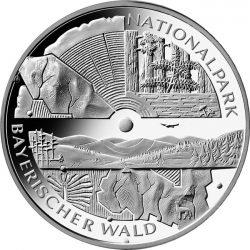 10 евро, Германия (Национальный парк Баварский лес)