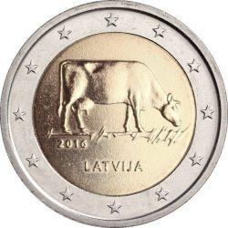 2 евро, Латвия (Сельское хозяйство Латвии)
