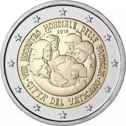 2 евро, Ватикан (VIII Всемирная встреча семей в Филадельфии)