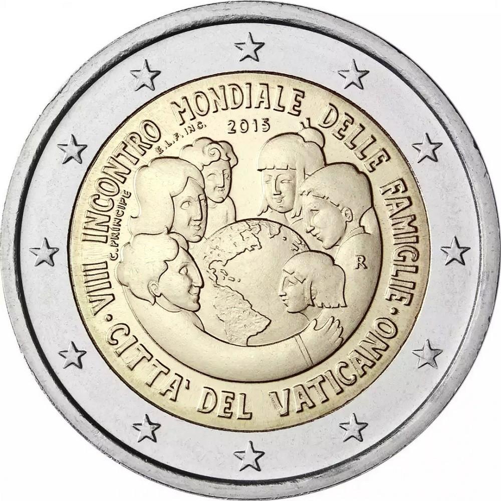 Ватикан 2 евро юбилейные монеты долларов сша