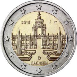 2 евро, Германия (Саксония)