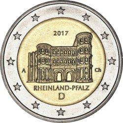 2 евро, Германия (Рейнланд-Пфальц)