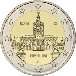 2 евро, Германия (Берлин)