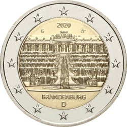 2 евро, Германия (Бранденбург)