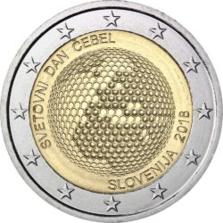 2 евро, Словения (Всемирный день пчёл)