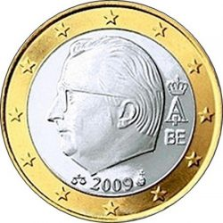1 евро, Бельгия (тип 3)