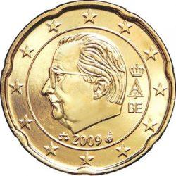 20 евроцентов Бельгии (тип 3)