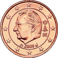 2 евроцента Бельгии (тип 3)