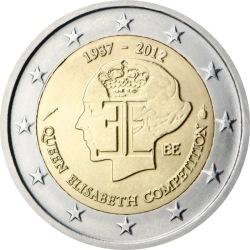 2 евро, Бельгия (75 лет Конкурсу имени королевы Елизаветы)