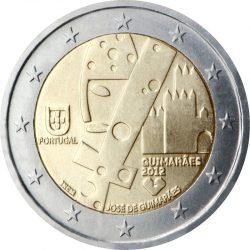2 евро, Португалия (Гимарайнш - Культурная столица Европы)