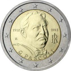 2 евро, Италия (100 лет со смерти поэта Джованни Пасколи)