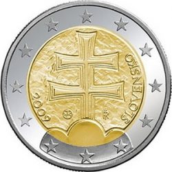 2 евро, Словакия