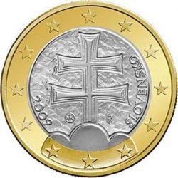 1 евро, Словакия