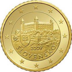 50 евроцентов, Словакия
