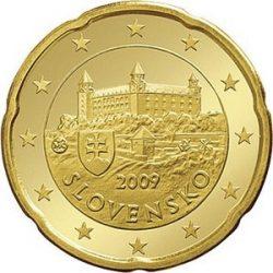 20 евроцентов, Словакия