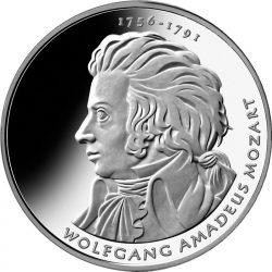 10 евро, Германия (250 лет со дня рождения В.А.Моцарта)