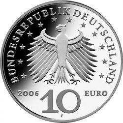 10 евро, Германия (225 лет со дня рождения К.Ф.Шинкеля)