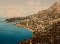 Монако на открытке конца XIX века