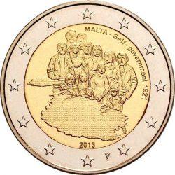 2 евро, Мальта (Собственное правительство 1921 года)