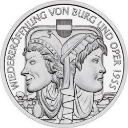 10 евро, Австрия (50 лет восстановлению федеральных театров)
