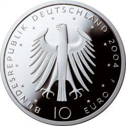 10 евро, Германия (200 лет со дня рождения Эдуарда Мёрике)